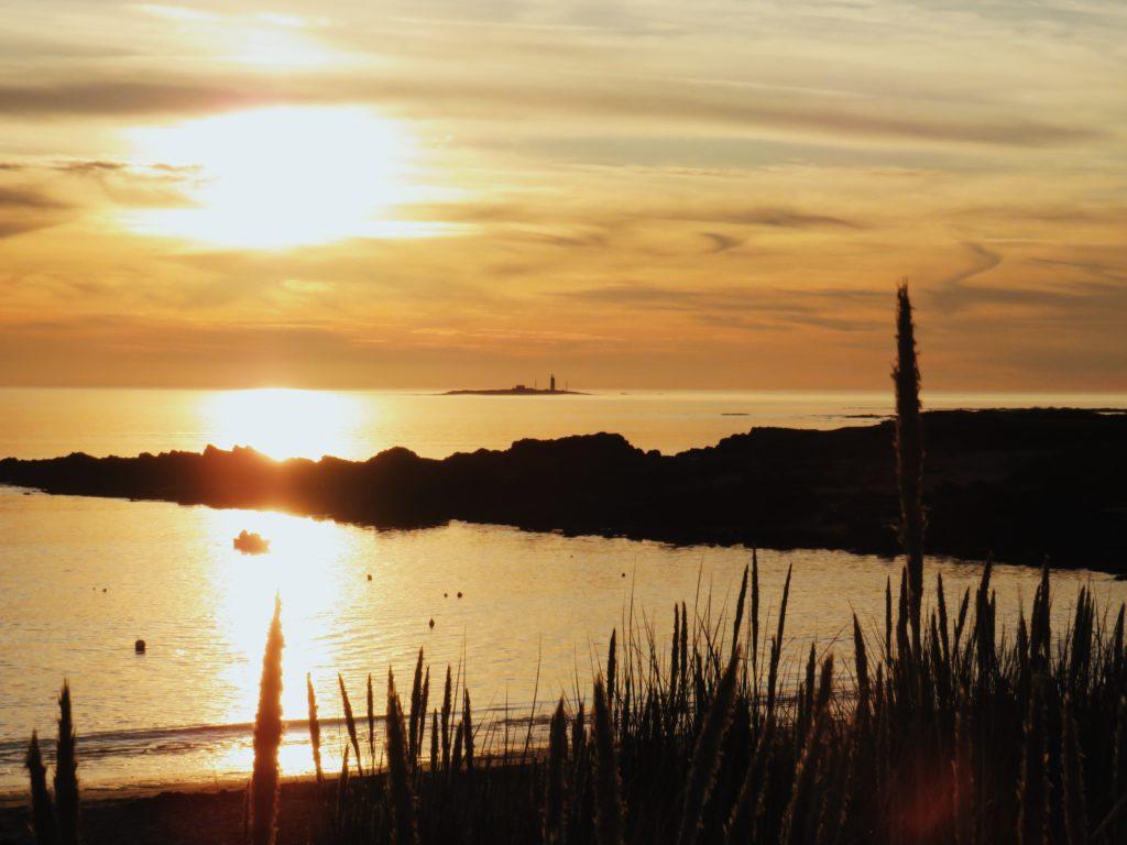 coucher de soleil noirmoutier plage de luzeronde