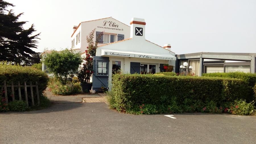 L'ETIER : un restaurant gastronomique au cœur des marais de Noirmoutier