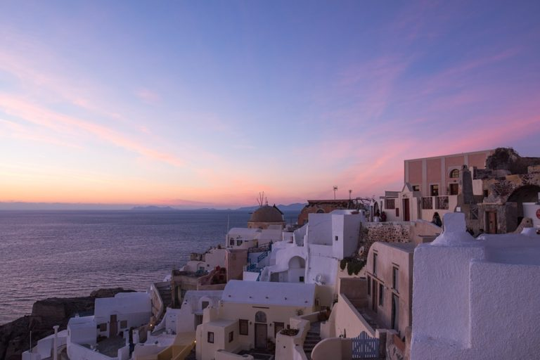 voyage mere fille cyclades santorin