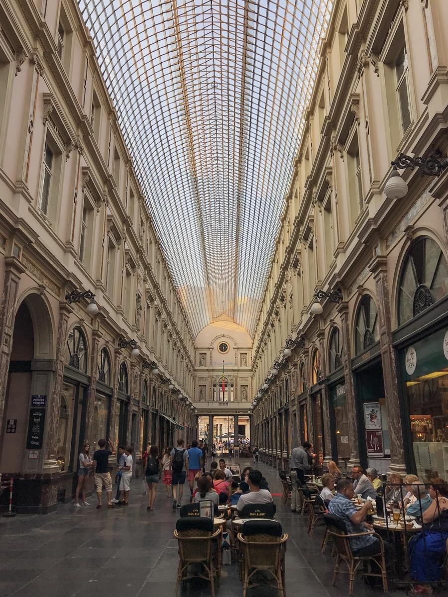 Galeries royales Saint-Hubert Bruxelles