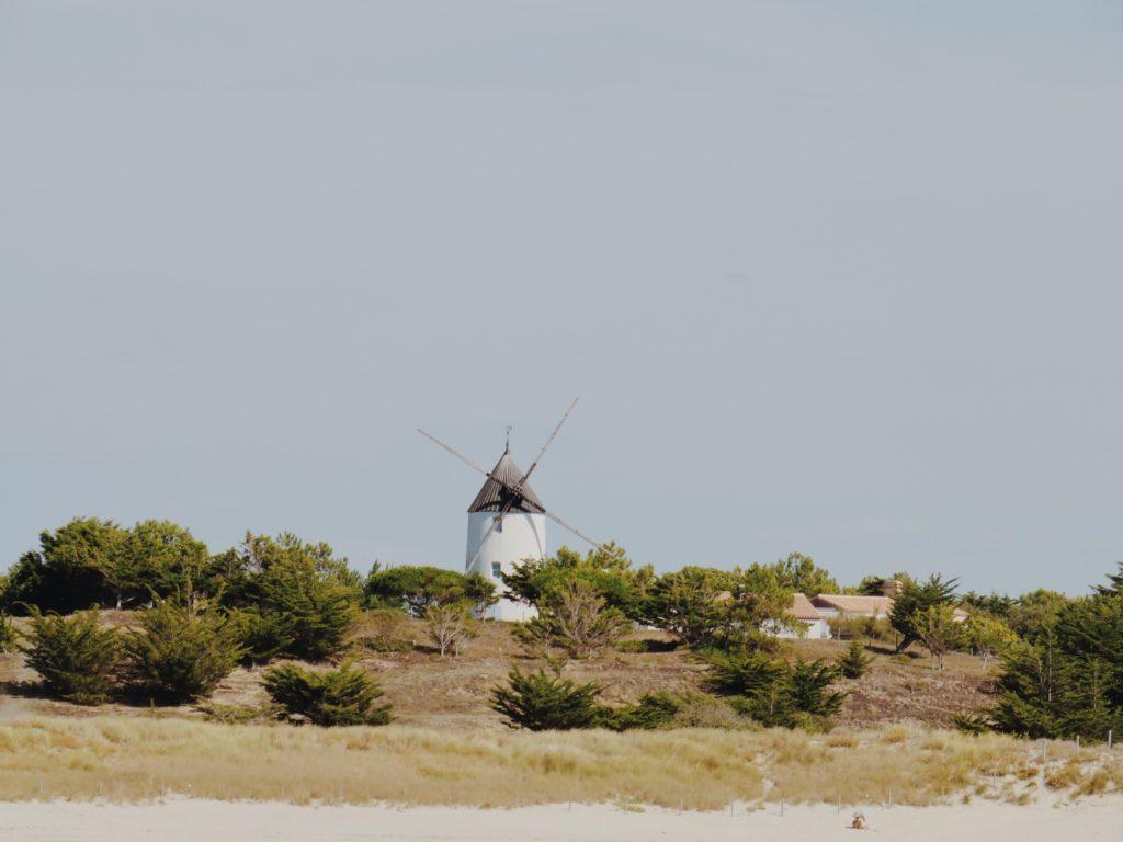 itineraire velo noirmoutier entre marais et moulins