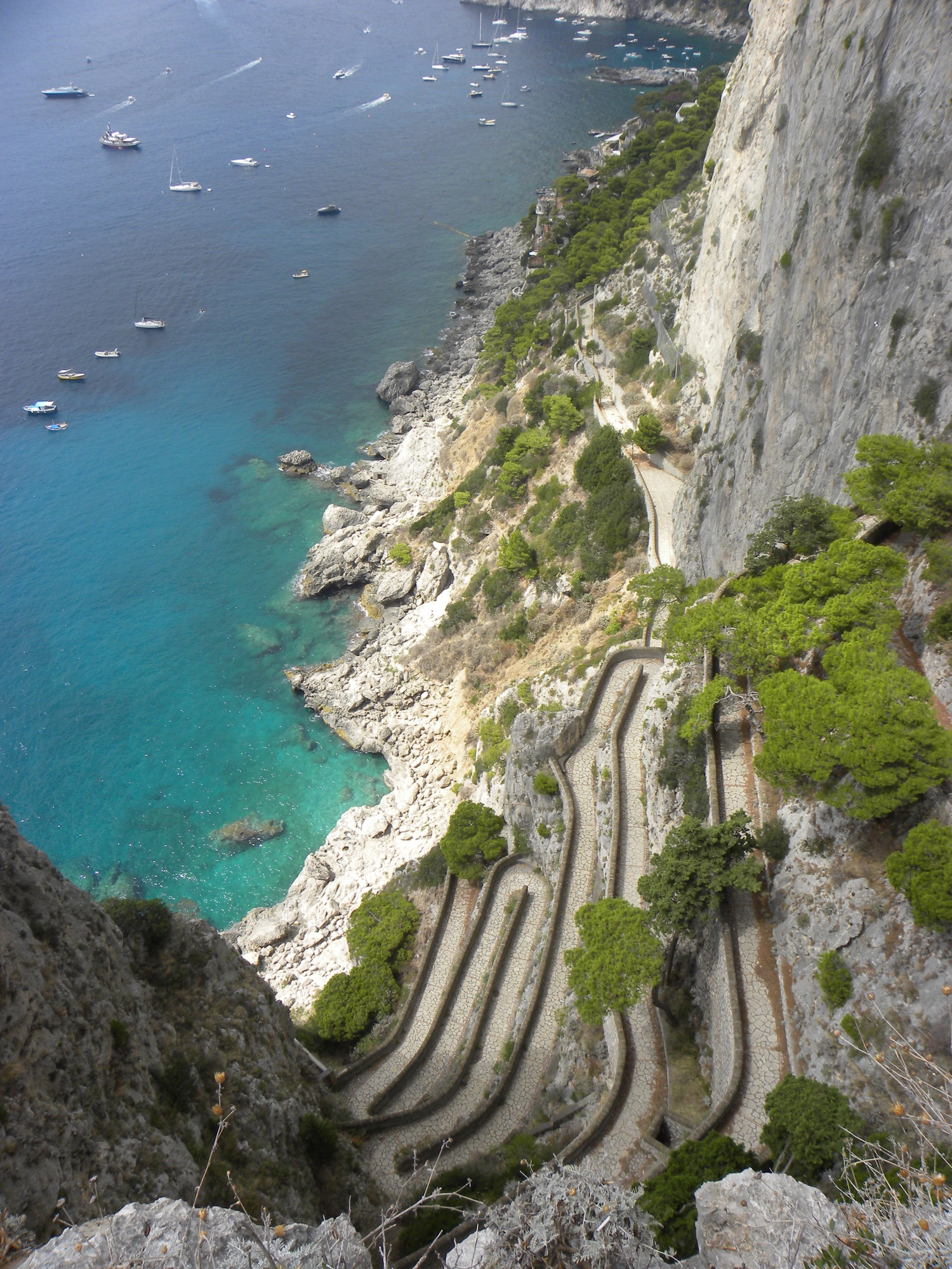 randonnée via krupp capri italie naples
