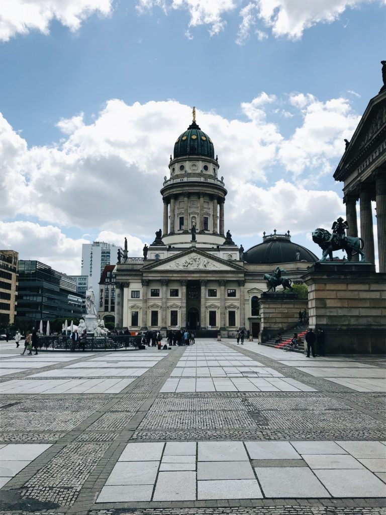Gendarmenmarkt berlin allemagne