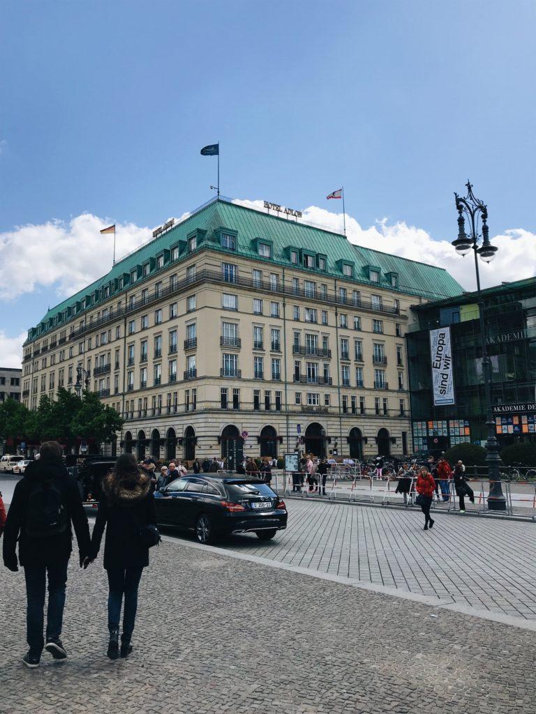 Hotel Adlon Kempiski Berlin Allemagne