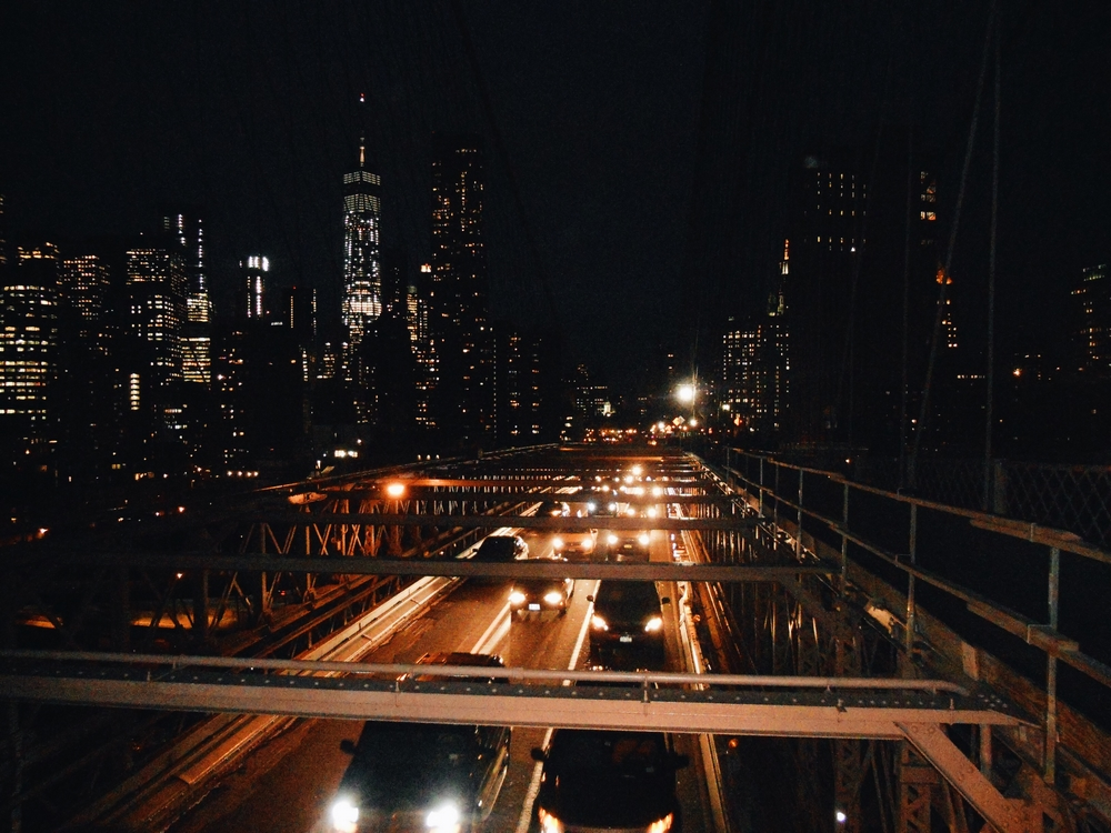 pont brooklyn new york nuit