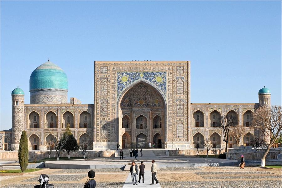 destination automne ouzbekistan asie