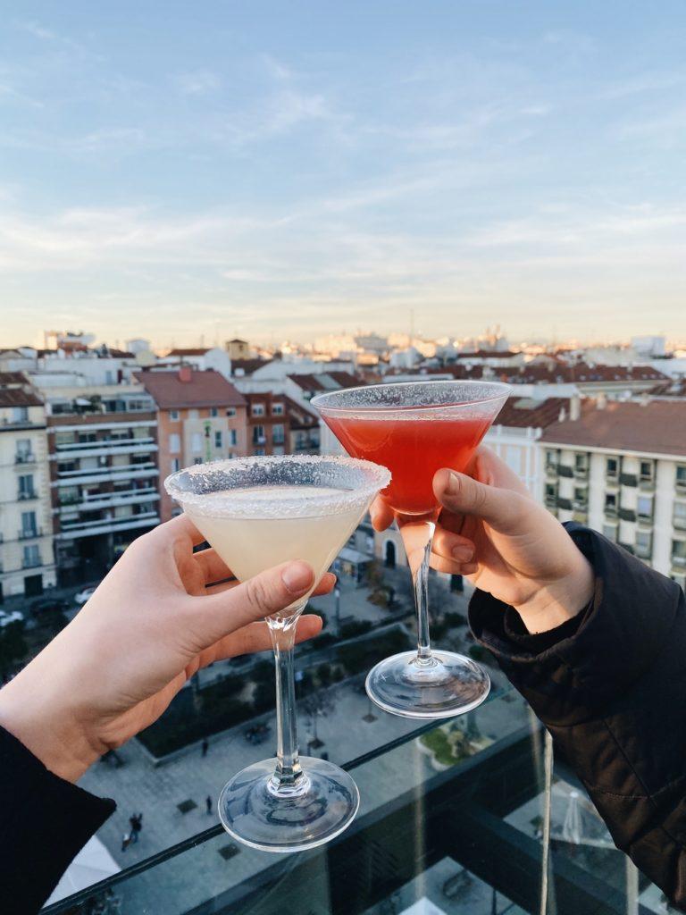 rooftop bar madrid room mate hotel