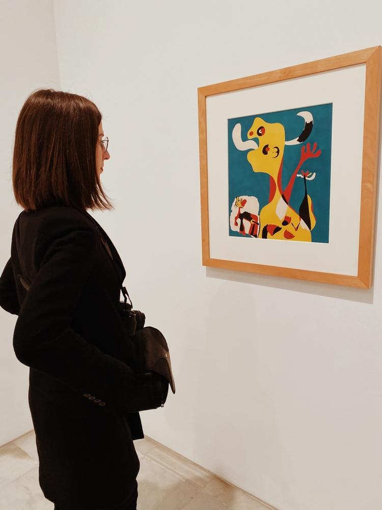 musée reine sofia madrid tableau joan miro