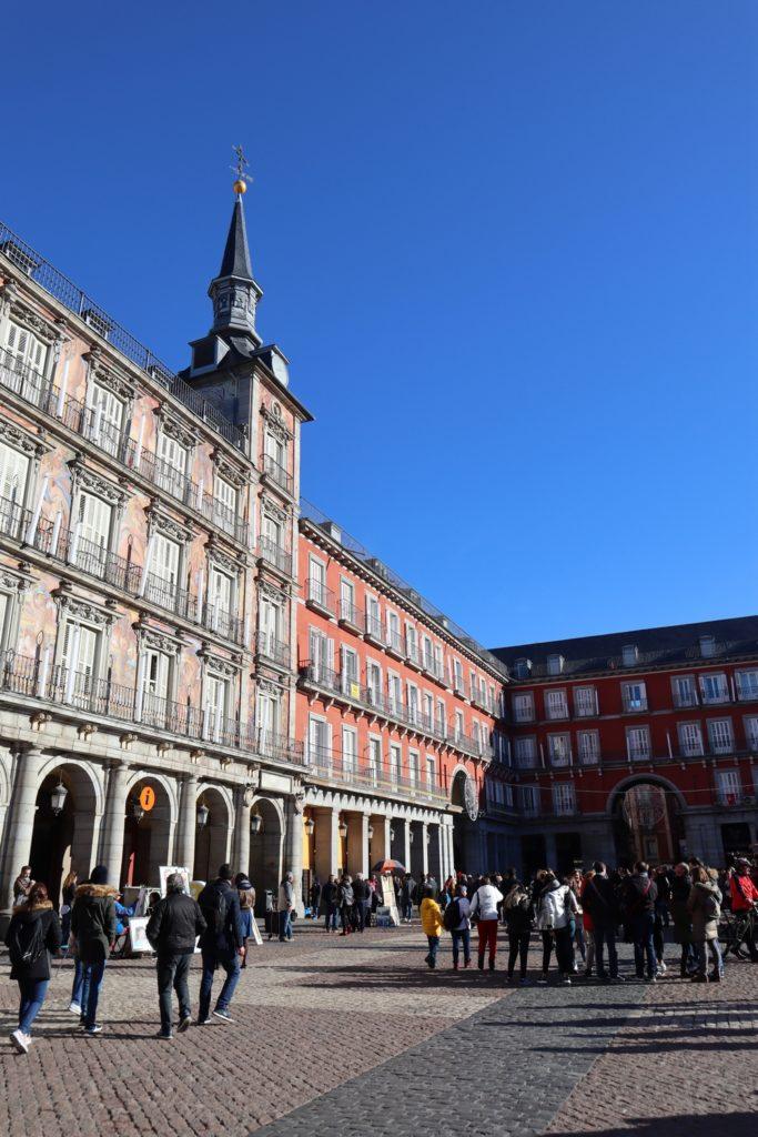 plaza mayor madrid espagne