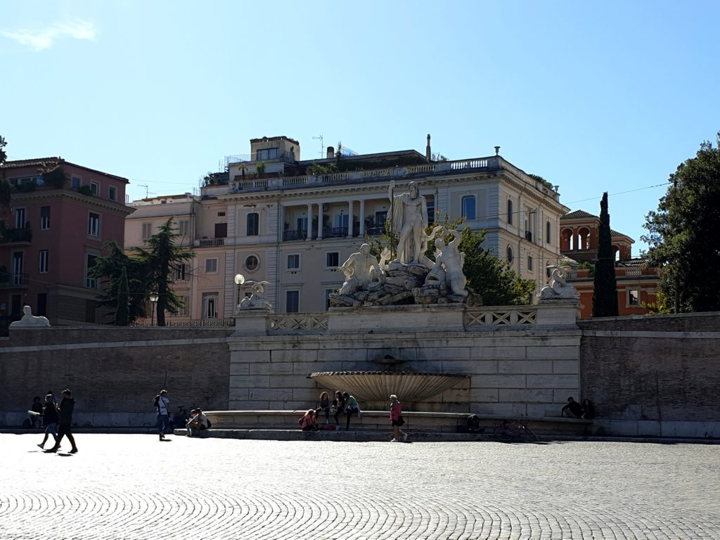 piazza del popolo rome italie