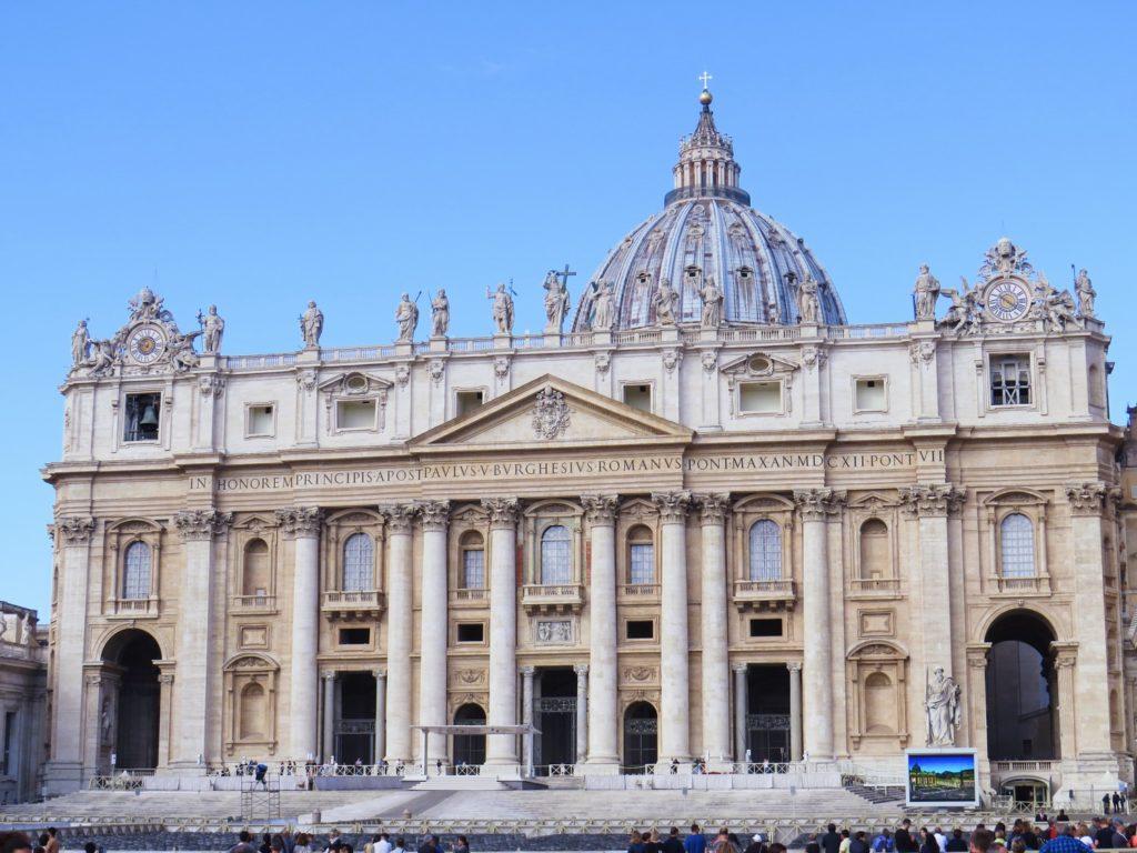 basilique saint pierre vatican rome italie