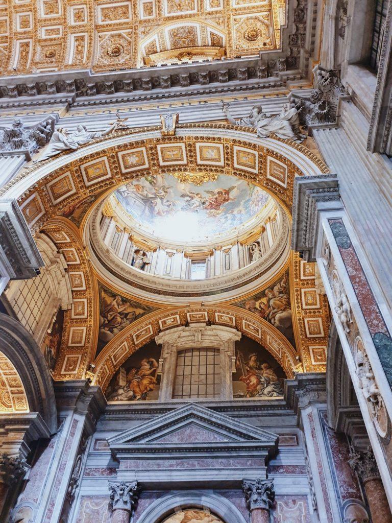 dorures basilique saint pierre vatican