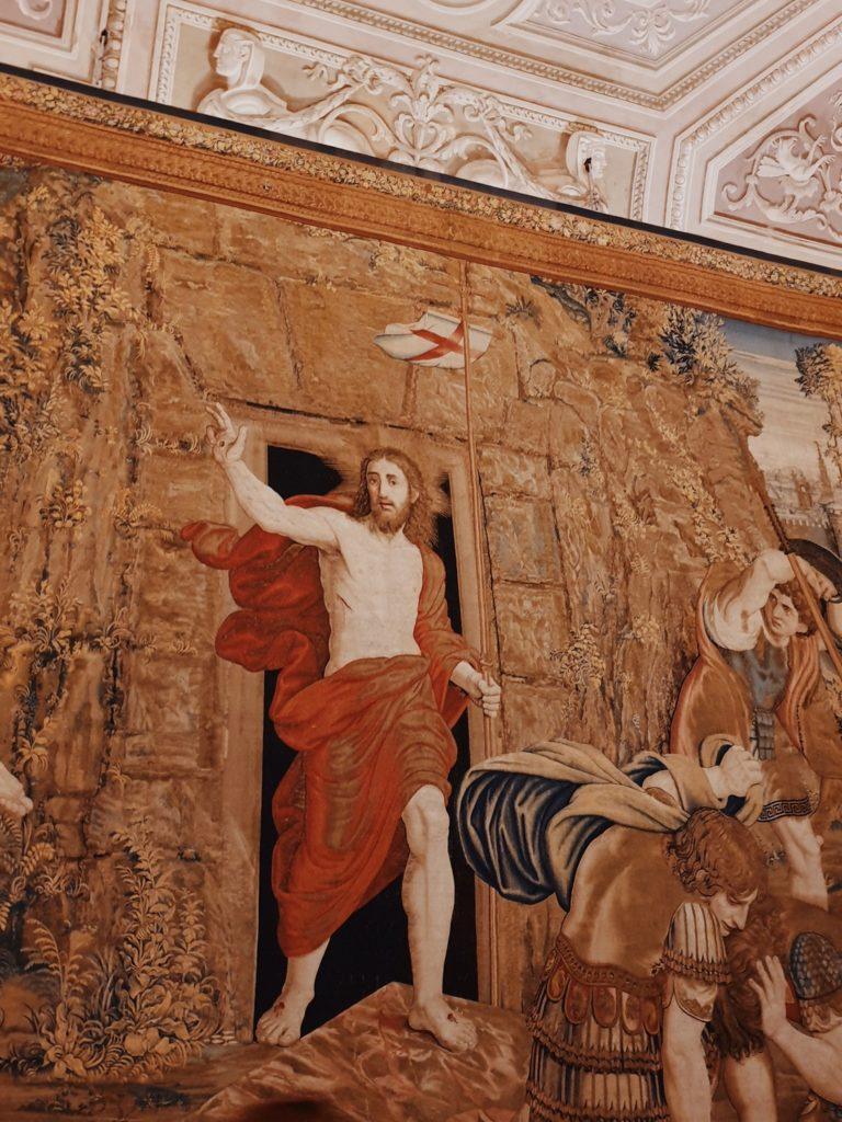 galerie des tapisseries musee vatican rome italie
