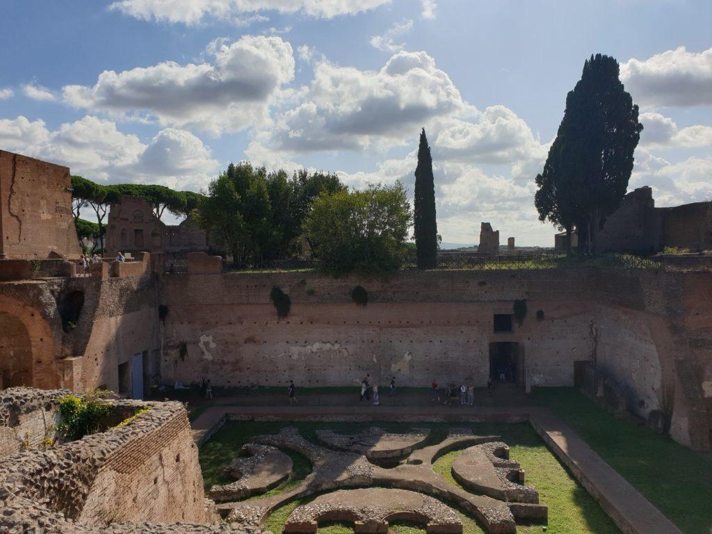 maison d'auguste mont palation rome italie