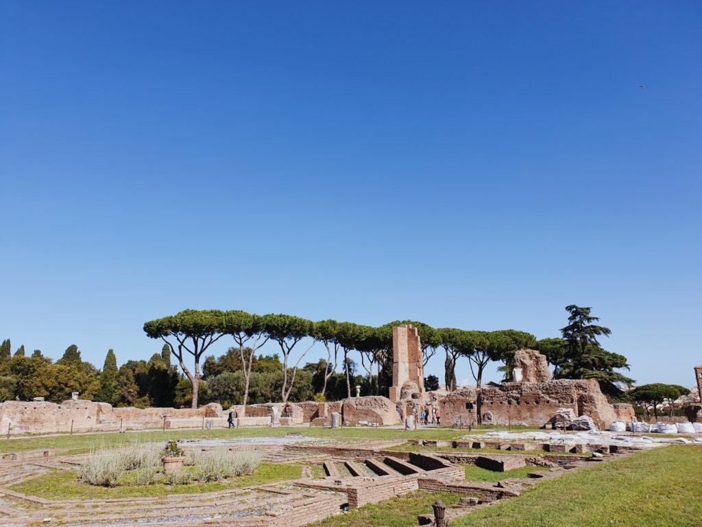 mont palatin rome italie