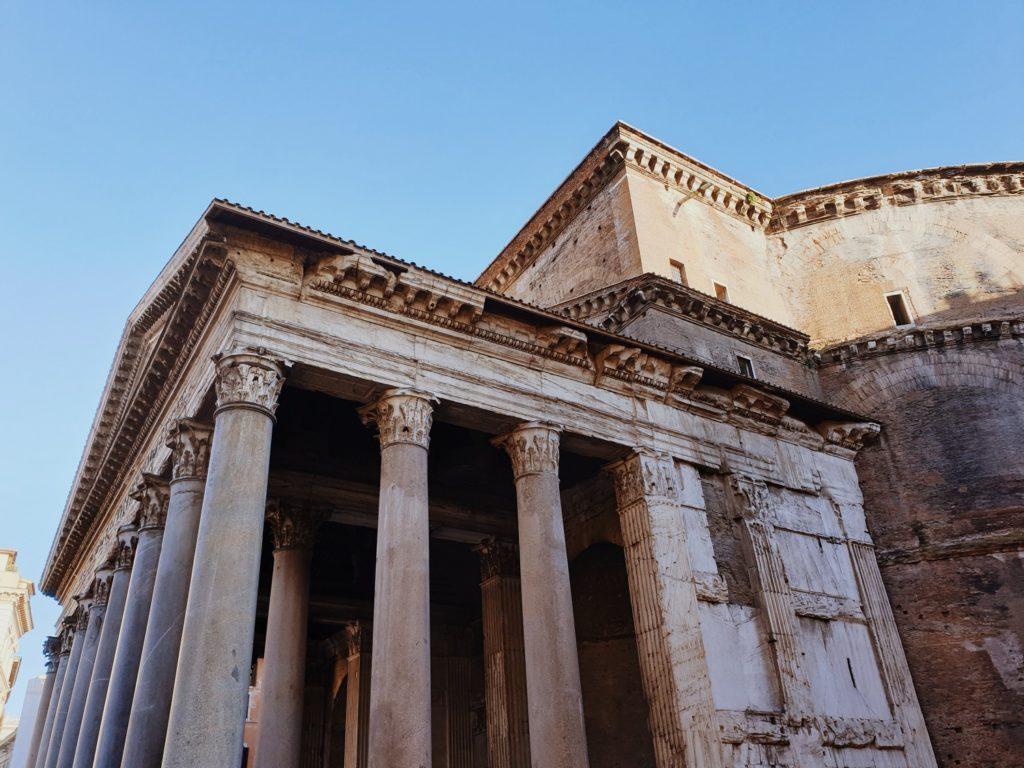 pantheon rome italie blog voyages