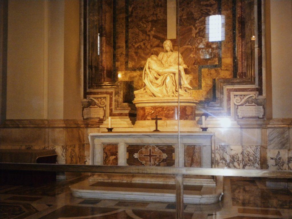 oeuvre michel ange pieta vatican rome italie