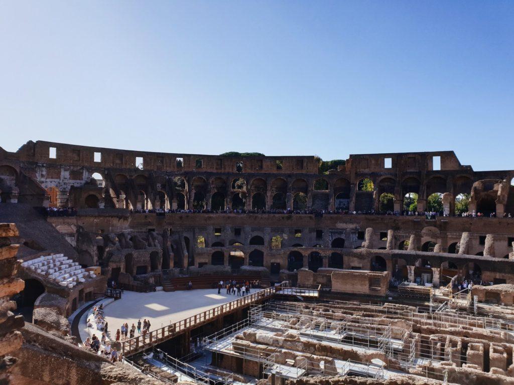 visite colisee rome italie