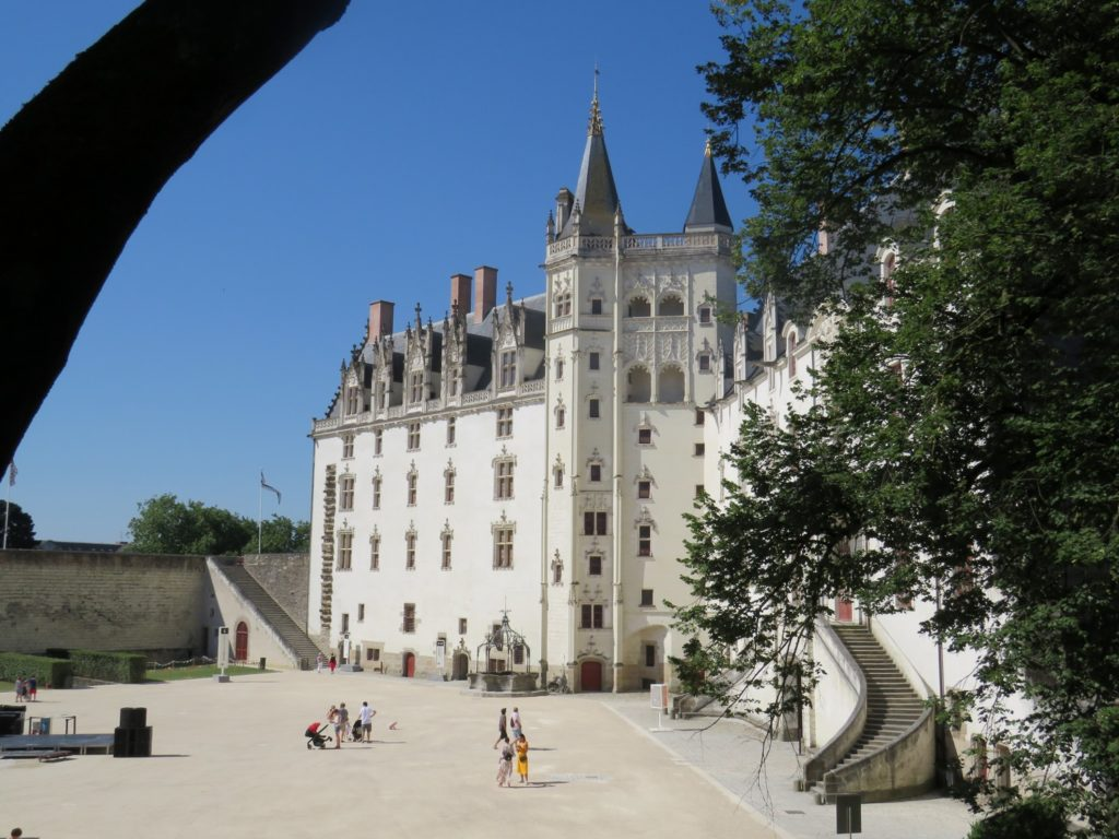 activite culturelle nantes visite chateau des ducs de bretagne