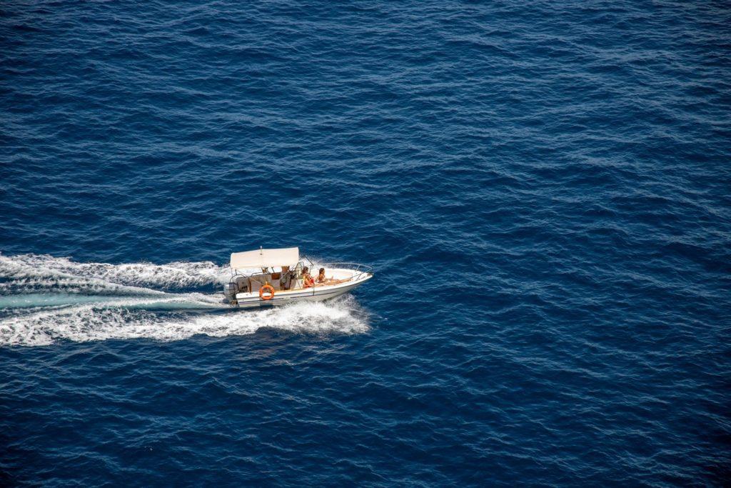 balade bateau grotte azzurra capri italie naples