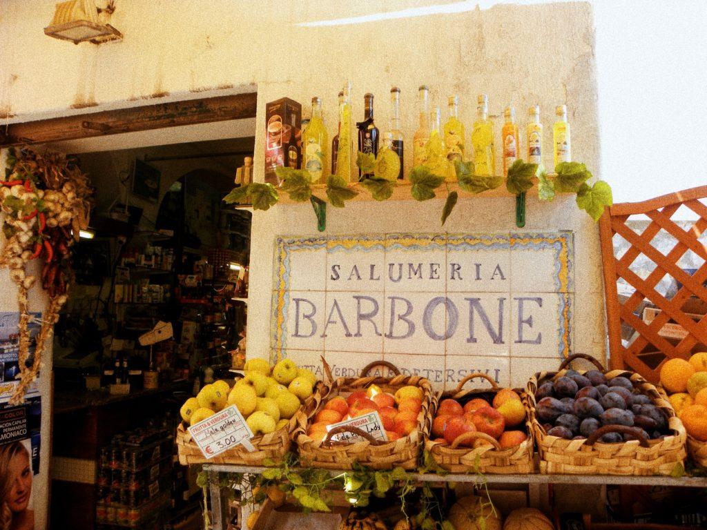 piazzetta capri shopping italie
