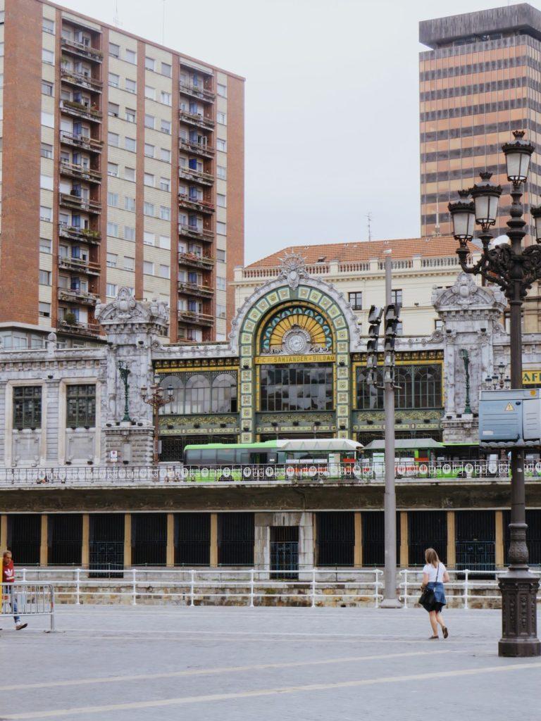 architecture gare bilbao espagne