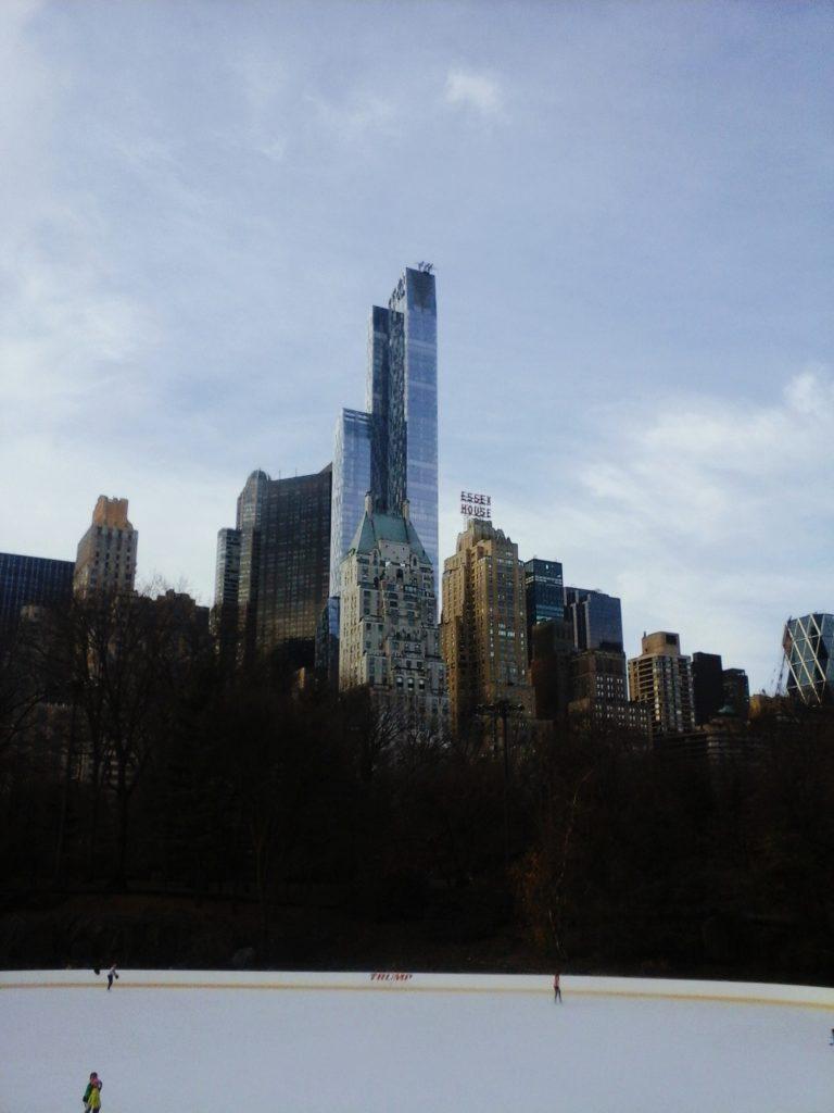 patinoire central park activite noel new york