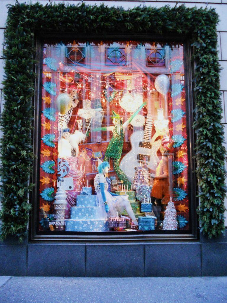 decor vitrines magasins noel new york