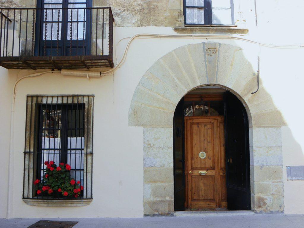 centre historique architecture calella