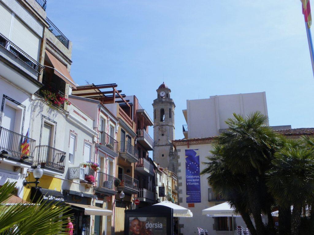 centre historique calella espagne