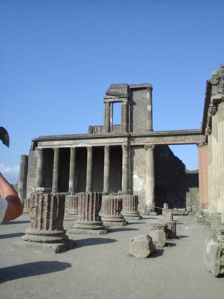 basilique du forum pompéi