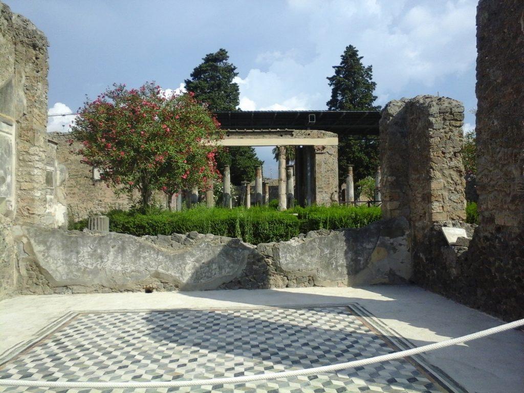 visite pompei maison du faune