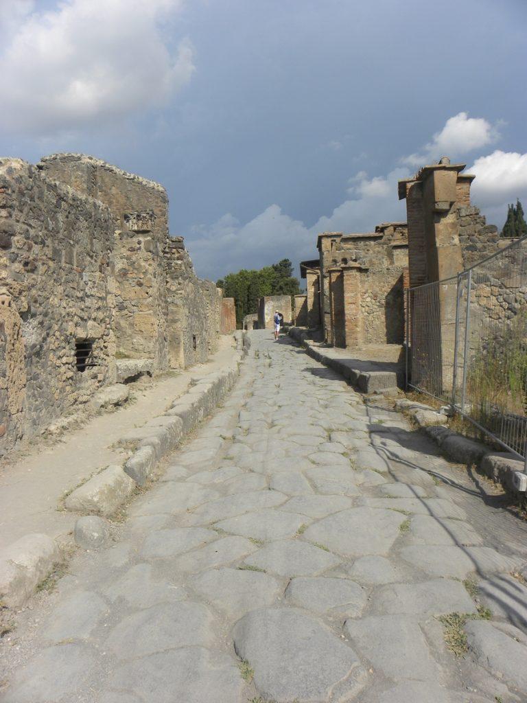visite pompei passages pieton